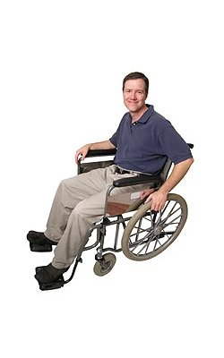 A guy in a wheelchair